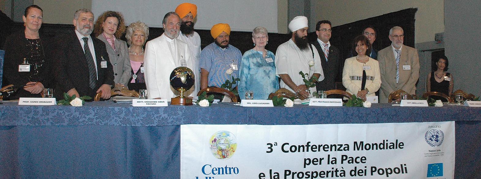 III Всемирная Конференция во Имя Мира и Благополучия Народов