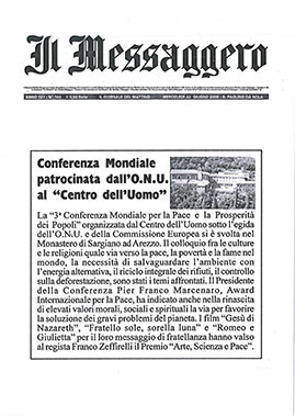 Il Messaggero, 22 June 2005