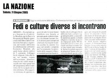 La Nazione, 11 June 2005
