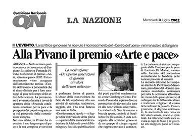 La Nazione, 3 July 2002