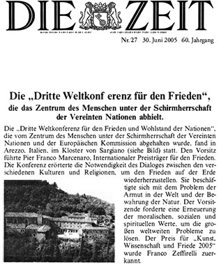 Die Zeit, 30 June 2005